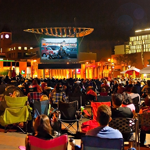Movie Nights in Garden Square