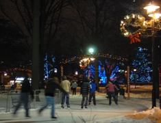 gage park at night
