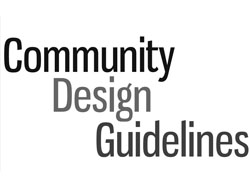 Community Deisgn Guidelines