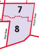 wards 7 & 8 map