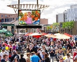 Garden Square and large LED screen