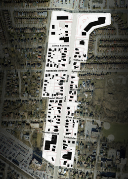 Main Street North Boundaries