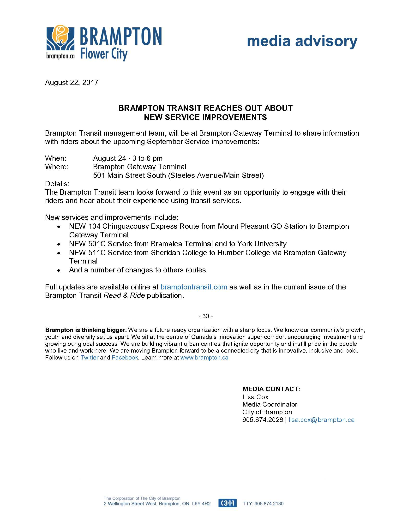 08.22.2017_Media Advisory Brampton Transit Service Improvements.jpg