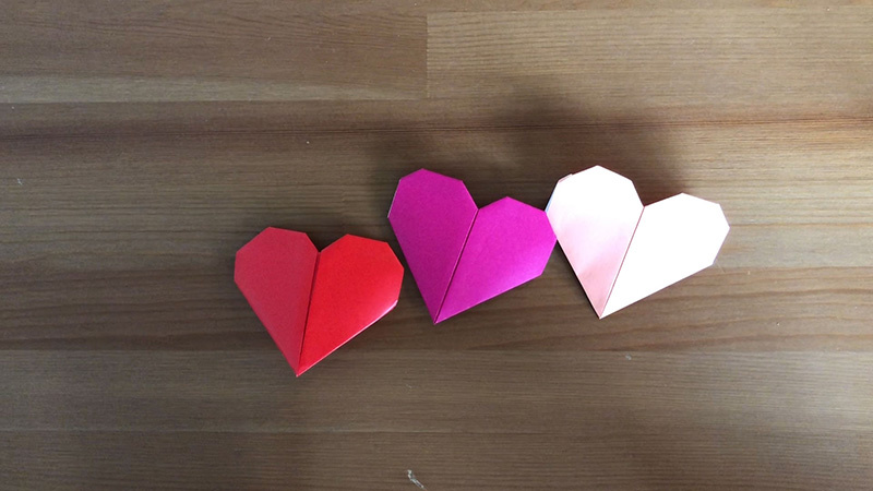 Thumbnail for Origami Hearts