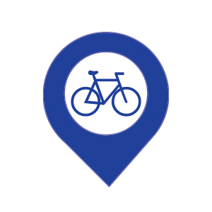Brampton Cycling Map
