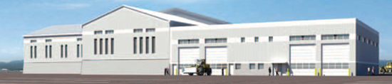 Rendering of Sandalwood Yard Facility